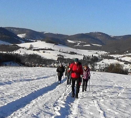 KST Hnúšťa Zimný výstup na Tŕstie (2)